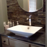 Natural Stone Bathroom Vanity