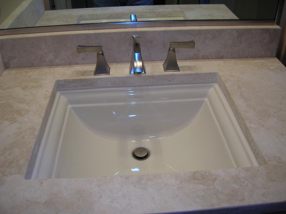 Paradon Travertine Vanity