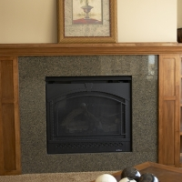 Tropic Brown Fireplace Surround