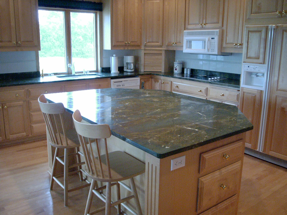 Natural Stone Countertops : Natural stone kitchen countertops northstar granite tops