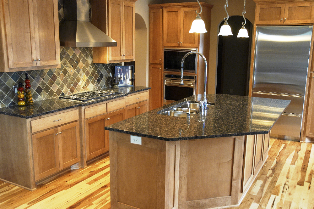 Fabricated Kitchen Countertops