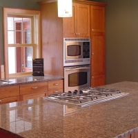 Atlantico Brown Kitchen Quartz Countertop