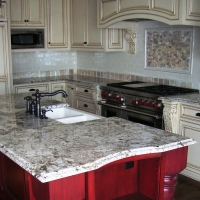 Delicatus Kitchen Granite Countertop