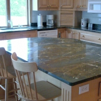 Golden Musk Kitchen Granite Kitchen Countertop