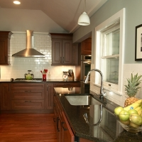 Black Granite Kitchen Countertop