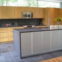 Dark Natural Stone Kitchen Countertop