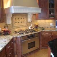 Lapidus Gold Granite Kitchen Countertop