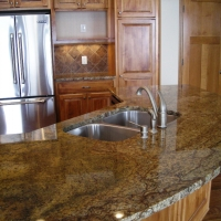 Persian Brown Kitchen Natural Stone Countertop