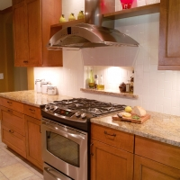 Roman Gold Kitchen Quartz Countertop