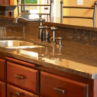 Royal Sable Kitchen Natural Stone Countertop